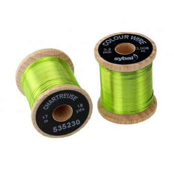 Colour Wire 0,2 mm - Chartreuse