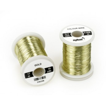 Colour Wire 0,2 mm - Gold