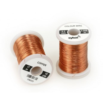Colour Wire 0,2 mm - Copper