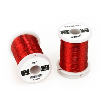 Colour Wire 0,2 mm - Red