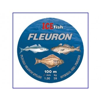 Fluorocarbonový vlasec ICE Fish FLEURON