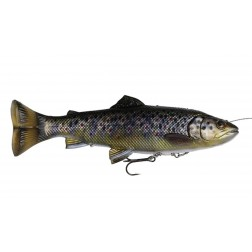 Savage Gear 4D Line Thru Pulsetail Trout Brown Trout