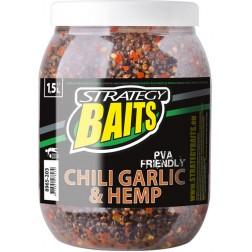 STRATEGY BAITS CHilli česnek a konopí