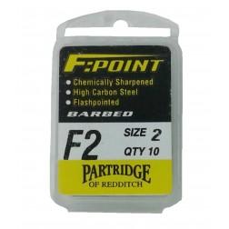 háčky Partridge F2