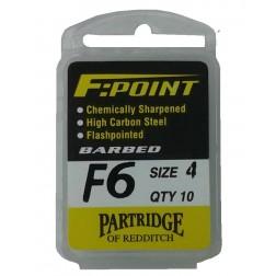 háčky Partridge F6