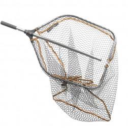 podběrák Savage Gear Pro Folding Rubber Large Mesh Landing Net XL