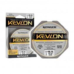 šňůra Konger Kevlon Black x4 braid line 150m