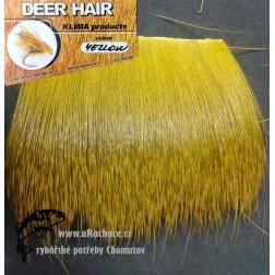 jelen - zimní srst - Yellow