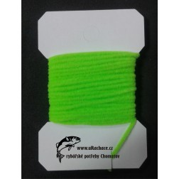 Chenille ultra micro - fluo chartreuse