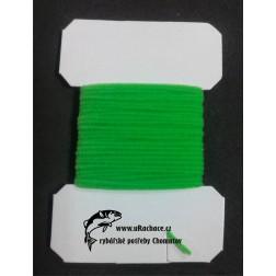 Chenille ultra micro - zelená