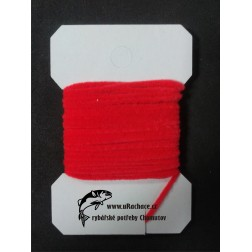 Chenille ultra micro - fluo red