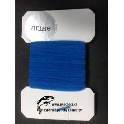 Chenille ultra micro - modrá
