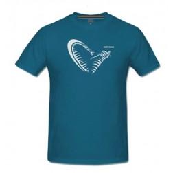 tričko Simply Savage Jaw Blue Tee