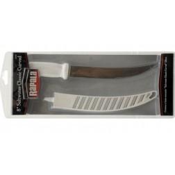 Klasický zakřivený filetový nůž Rapala 8 palců