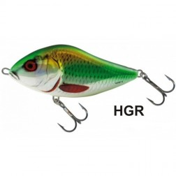 wobler Salmo SLIDER 5 S Holographic Green Roach