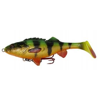 Savage Gear 4D Perch Shad 12,5cm  Firetiger